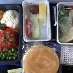 ユナイテッド航空のグアム行きで機内食をグルテンフリーミールに変更しました