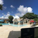 シェラトン・ラグーナグアムリゾートホテルのプールに行きました